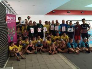 Ciudadanos concejales acto solidario contra esclerosis (19-7-2015)