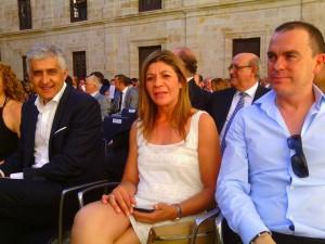 Ciudadanos concejales en  Cecale de Oro (09-7-2015)