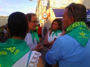 Ciudadanos concejales en fiestas Pinilla (21-7-2015)