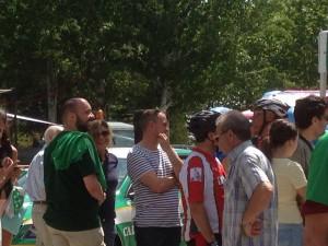 Ciudadanos concejales en la iniciativa banco de alimentos (18-07-2015)