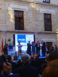 Ciudadanos concejales en premios Cecale de Oro (09-07-2015)