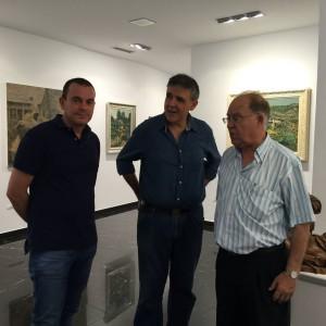 Ciudadanos concejales inauguración exposición Maestros (16-07-2015)