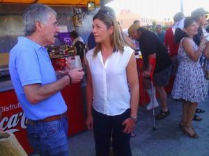 Ciudadanos concejala en pregón de San Frontis (20-08-2015)