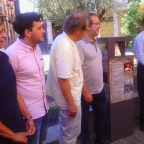 """C´s en la inauguración del monolito dedicado a """"Cervantes y Zamora"""""""