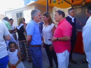 Ciudadanos concejala y coordinador en pregón fiestas San Frontis (20-08-2015)