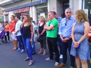 Ciudadanos concejales fiesta de los Bloques (06-08-2015)