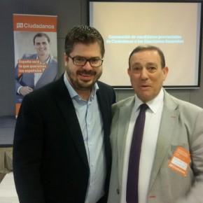 Requejo destaca la oportunidad de Ciudadanos para trabajar en un proyecto nuevo para España