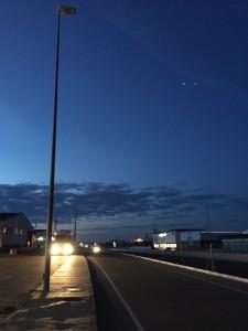 Ciudadanos Zamora iluminación corredor de Roales (octubre 15)