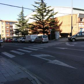 Ciudadanos Zamora alerta sobre el riesgo de atropellos y accidentes en las inmediaciones de la Plaza de Toros