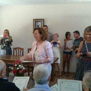 Matilla de Arzón inaugura su rehabilitado centro cultural con un homenaje a los vecinos mayores de 90 años de la localidad