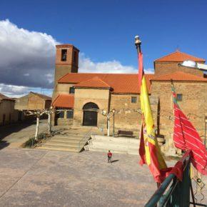 Los vecinos de Matilla de Arzón ya pueden disfrutar de la remodelada Plaza Mayor de la localidad