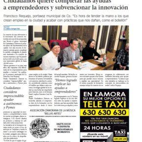 Ciudadanos quiere completar las ayudas a emprendedores y subvencionar la innovación