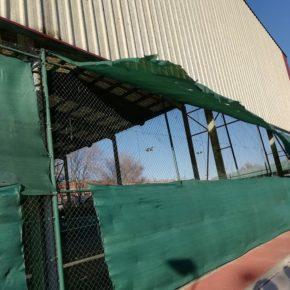 Ciudadanos pedirá explicaciones al concejal de Deportes sobre el deterioro de las pistas de tenis de la Ciudad Deportiva